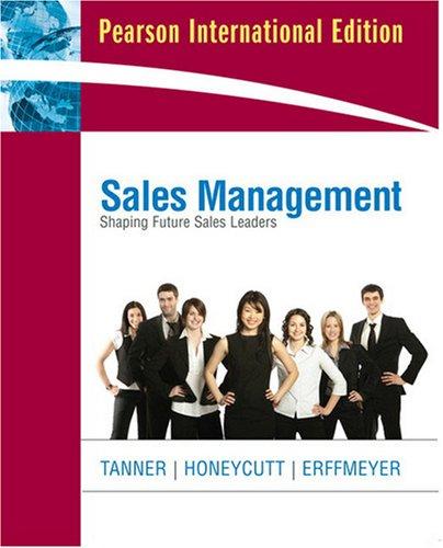 9780136026112: Sales Management