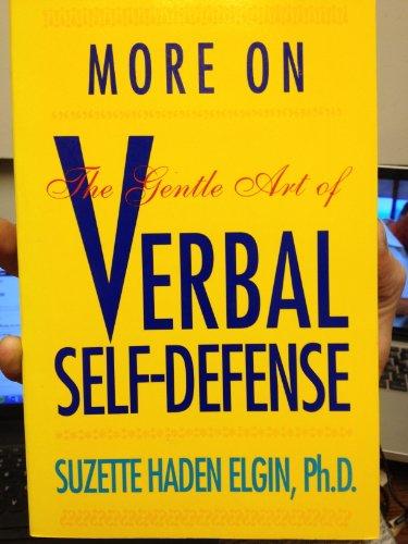 9780136026655: More on the Gentle Art of Verbal Self-Defense
