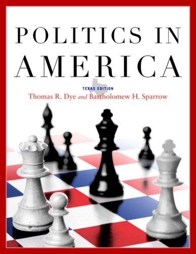 9780136027249: Politics in America, Texas Edition (8th Edition)