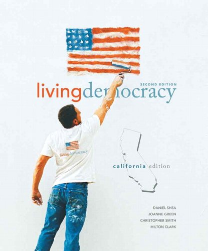 9780136027973: Living Democracy, California Edition (2nd Edition)