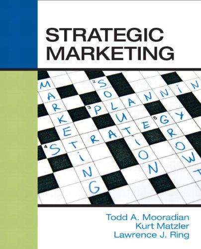 9780136028048: Strategic Marketing
