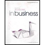 9780136028581: Microsft. Access'07 in Business , Compr. - With DVD