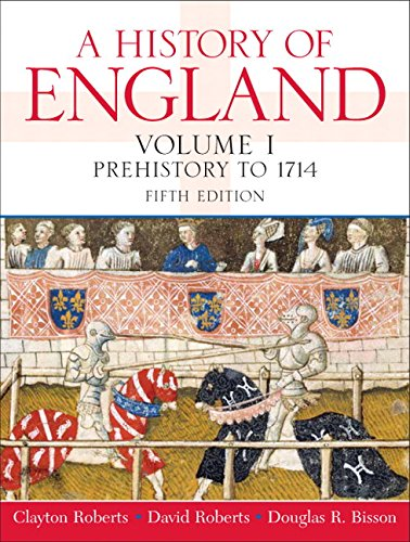 9780136028611: A History of England: Prehistory to 1714