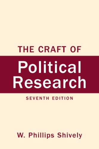 9780136029489: The Craft of Political Research