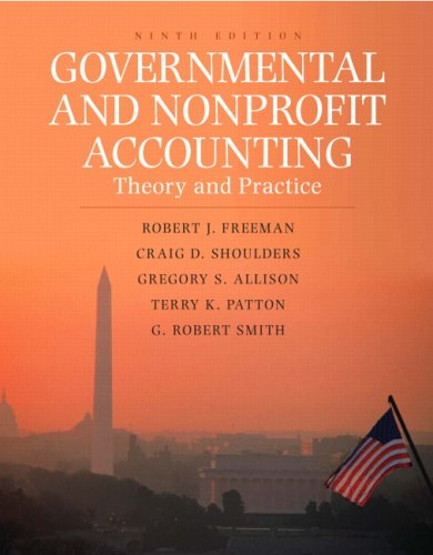 9780136029519: Governmental and Nonprofit Accounting: Theory and Practice (9th Edition)