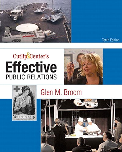 9780136029694: Cutlip and Center's Effective Public Relations