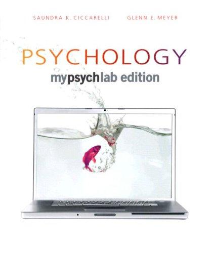 Psychology (paperback): Saundra E. Ciccarelli,