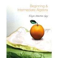9780136030836: Instructor's Solutions Manual for BEGINNING & INTERMEDIATE ALGEBRA by Elayn Martin-Gay, 4th edition
