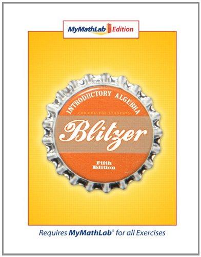 MyMathLab Edition (5th Edition): Blitzer, Robert F.