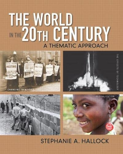 9780136032533: The World in the 20th Century: A Thematic Approach