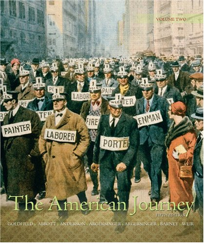 9780136032564: The American Journey: A History of the United States, Volume 2 (5th Edition) (Myhistorylab (Access Codes))