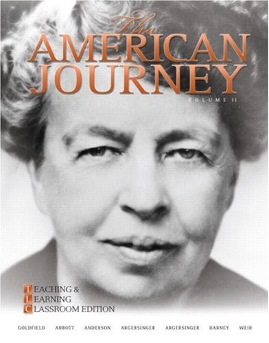 9780136032588: The American Journey: Teaching and Learning Classroom Edition, Volume 2 (5th Edition)