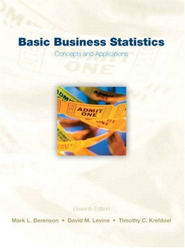 9780136032601: Basic Business Statistics: Concepts and Applications