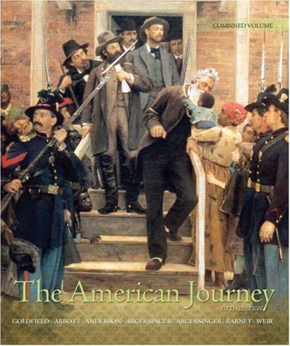 9780136032816: The American Journey: A History of the United States, Combined Volume (5th Edition) (MyHistoryLab Series)