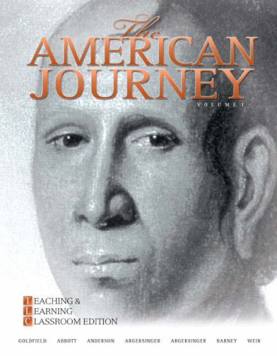 9780136032885: The American Journey: Teaching and Learning Classroom Edition v. 1