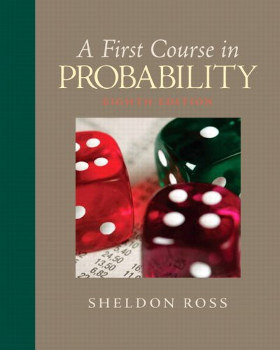 9780136033134: A First Course in Probability