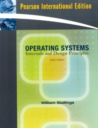 9780136033370: Operating Systems: Internals and Design Principles: International Edition