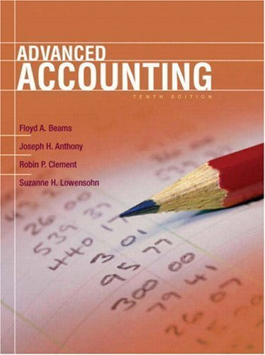 9780136033974: Advanced Accounting (10th Edition)