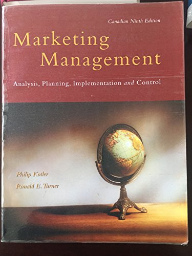 9780136034322: Marketing Management [Hardcover] by Unnamed
