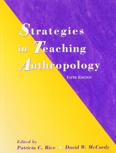 9780136034667: Strategies in Teaching Anthropology (5th Edition)