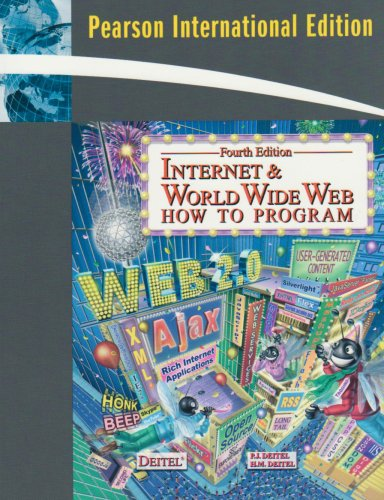 9780136035428: Internet & World Wide Web: How to Program (4th Edition)