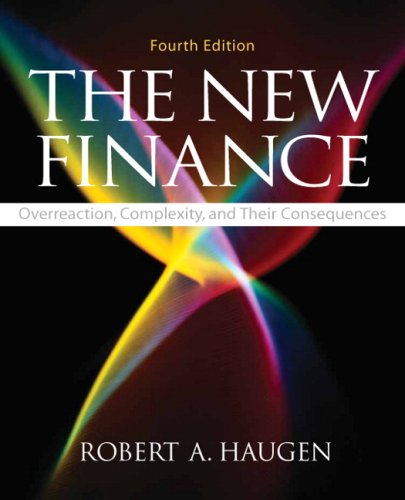 9780136036043: The New Finance: Overreaction, Complexity, and Their Consequences (Prentice Hall Series in Finance)