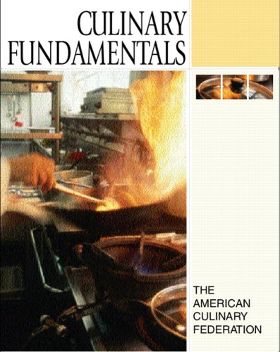 9780136036241: Culinary Fundamentals Value Pack (includes Study Guide & Cost Genie Student Version)