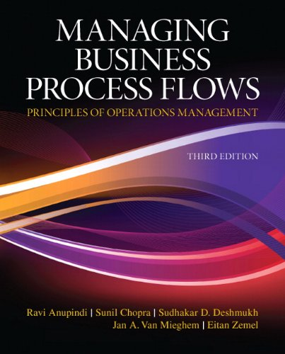 9780136036371: Managing Business Process Flows (3rd Edition)