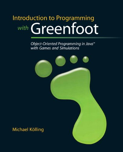 9780136037538: Introduction to Programming with Greenfoot: Object-Oriented Programming in Java with Games and Simulations