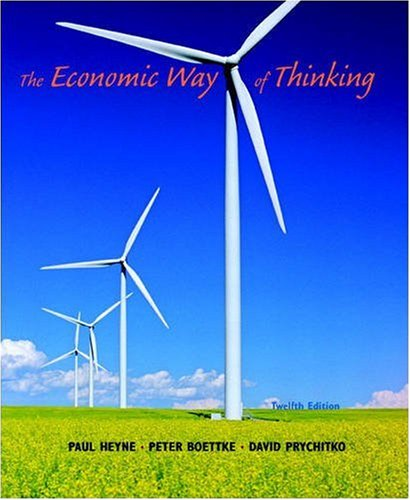 9780136039853: The Economic Way of Thinking
