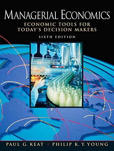 9780136040040: Managerial Economics (6th Edition)