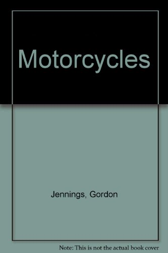 9780136040095: Motorcycles