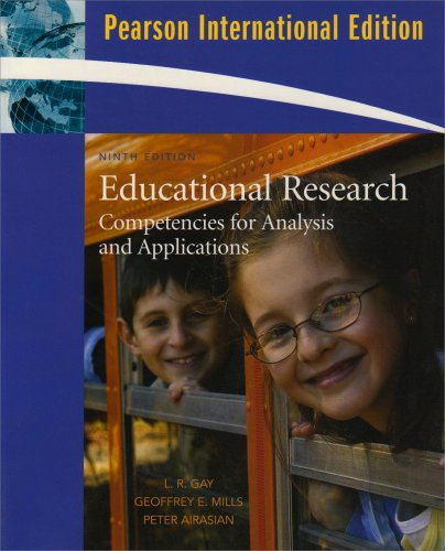 9780136040941: Educational Research: International Version: Competencies for Analysis and Applications
