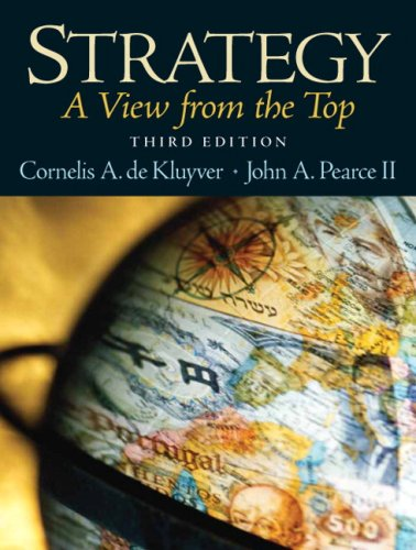 9780136041405: Strategy:A View From The Top: United States Edition