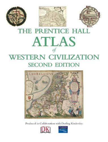 9780136042464: The Prentice Hall Atlas of Western Civilization