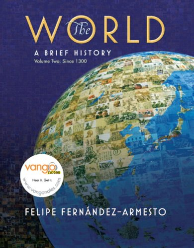 9780136042532: World: A Brief History, Volume 2 Value Package (includes Prentice Hall Atlas of World History)