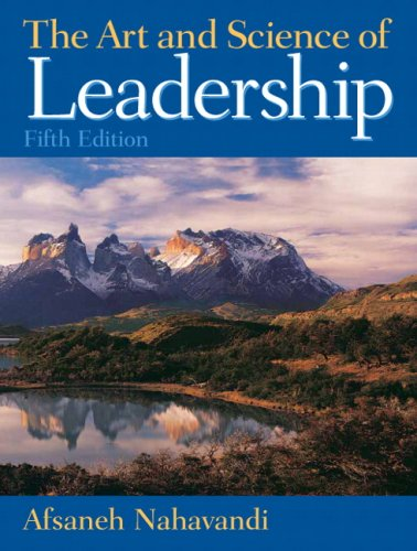 9780136044086: Art and Science of Leadership (5th Edition)