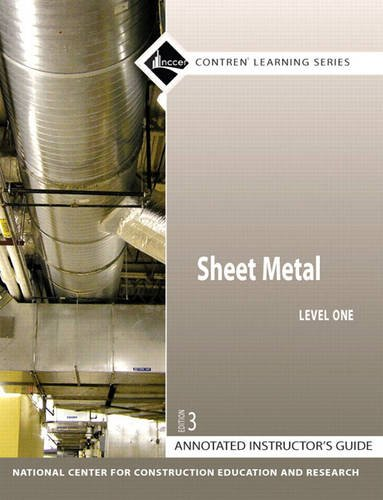 Sheet Metal Level 1 Annotated Instructor's Guide: NCCER