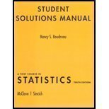 9780136045199: A Student Solutions Manual for First Course in Statistics