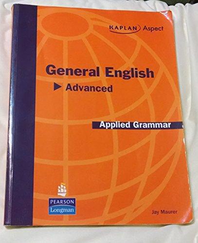 9780136049067: General English Advance, Applied Grammar Kaplan