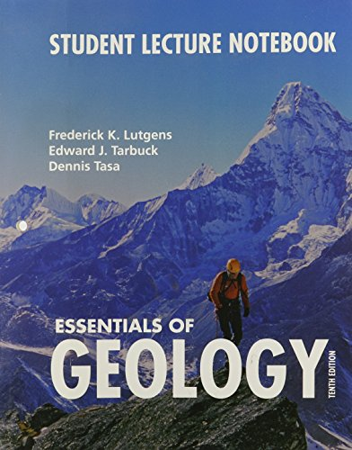 9780136049135: Essentials of Geology: Student Lecture Notebook