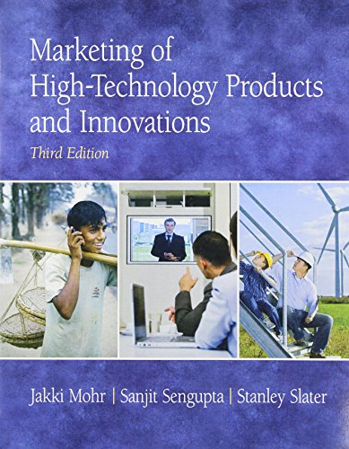9780136049968: Marketing of High-Technology Products and Innovations (3rd Edition)