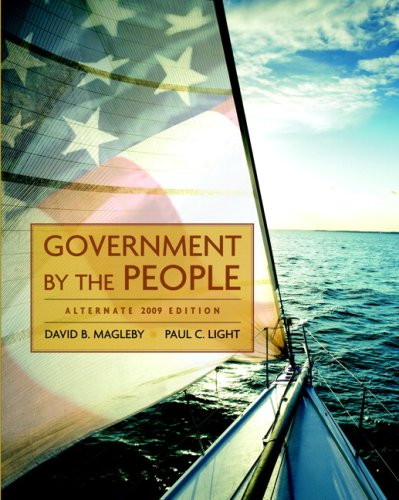 9780136050407: Government by the People, Alternate Edition, 2009 Edition (23rd Edition)
