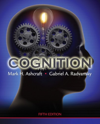 9780136050469: Cognition (5th Edition)