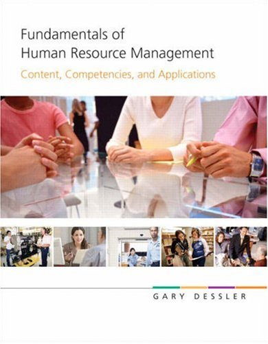 9780136050506: Fundamentals of Human Resource Management