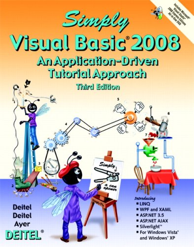 9780136053033: Simply Visual Basic 2008 (3rd Edition)