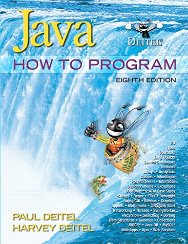 9780136053064: Java: How to Program, 8th Edition