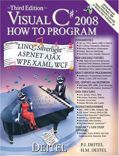 9780136053224: Visual C# 2008 How to Program
