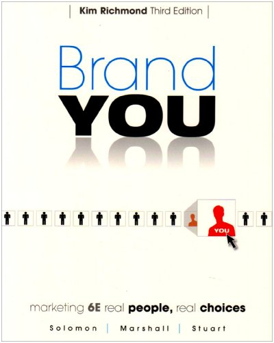 9780136053934: Brand You for Marketing: Real People, Real Choices