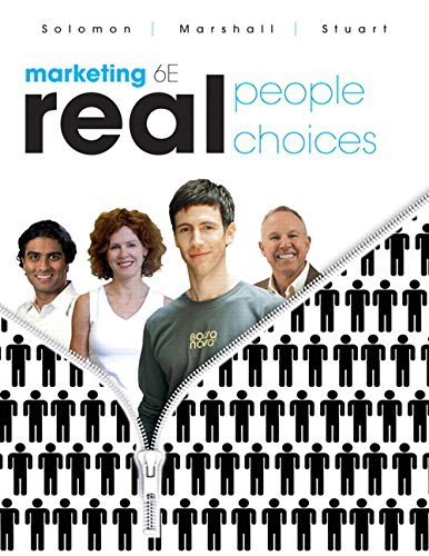 9780136054214: Marketing: Real People, Real Choices (6th Edition)